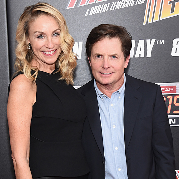Michael J. Fox and Tracy Pollan relationship