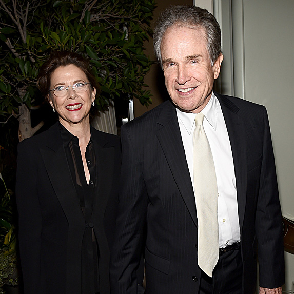 Warren Beatty and Annette Bening relationship