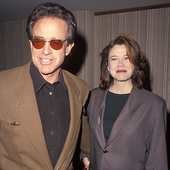 Warren Beatty and Annette Bening younger