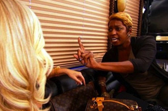 Kim and Nene fighting