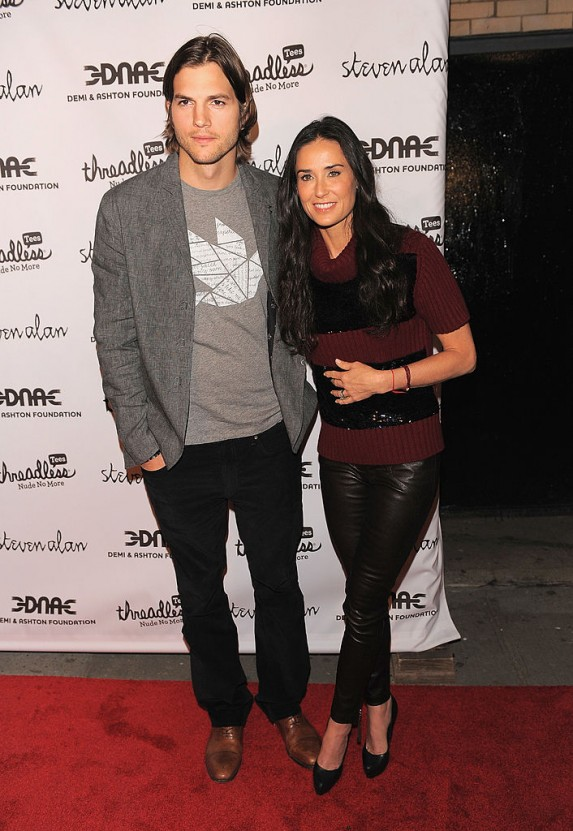 19. Ashton Kutcher and Demi Moore