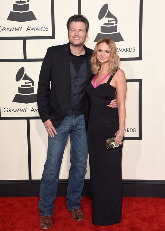 4. Miranda Lambert and Blake Shelton