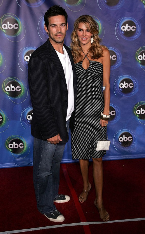 9. Brandi Glanville and Eddie Cibrian