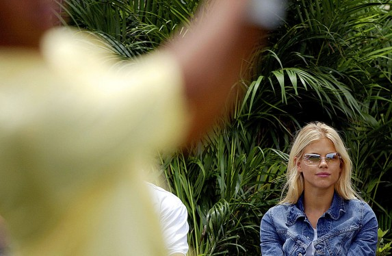 13. Tiger Woods and Elin Nordgren