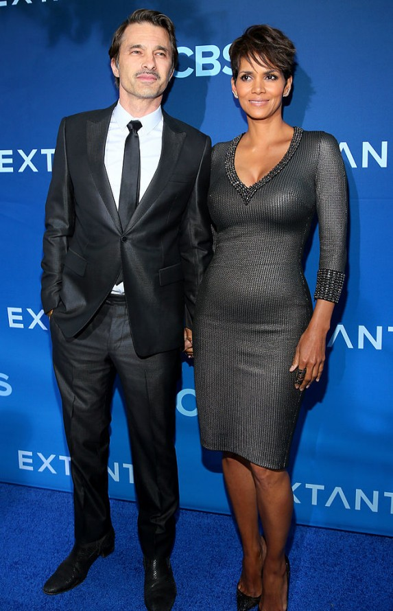 5. Halle Berry and Olivier Martinez