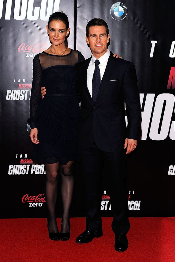 12. Tom Cruise and Katie Holmes