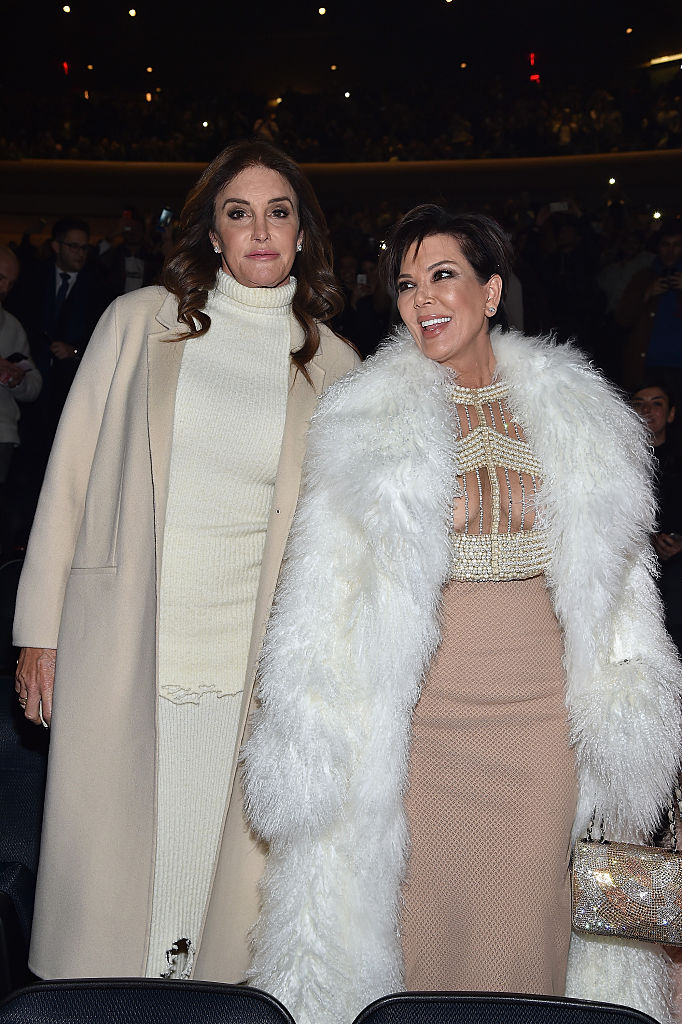 17. Kris and Caitlyn Jenner