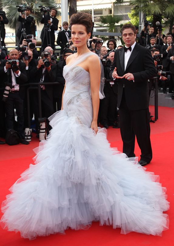 tulle on the red carpet