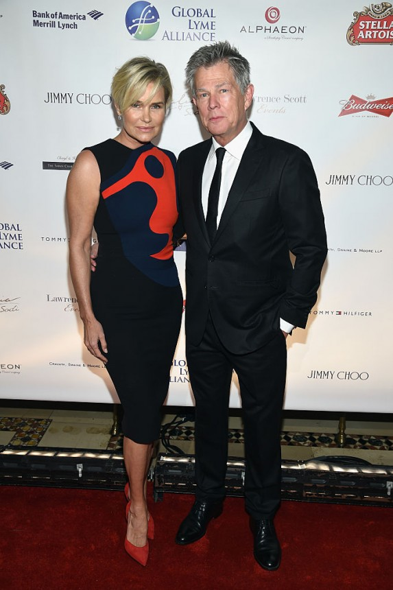 7. Yolanda Hadid and David Foster