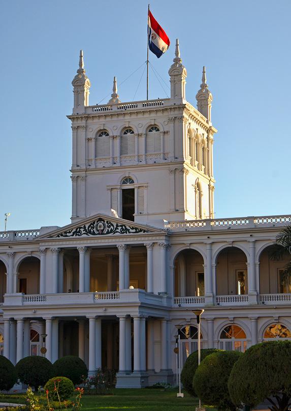 retire in Asuncion, Paraguay