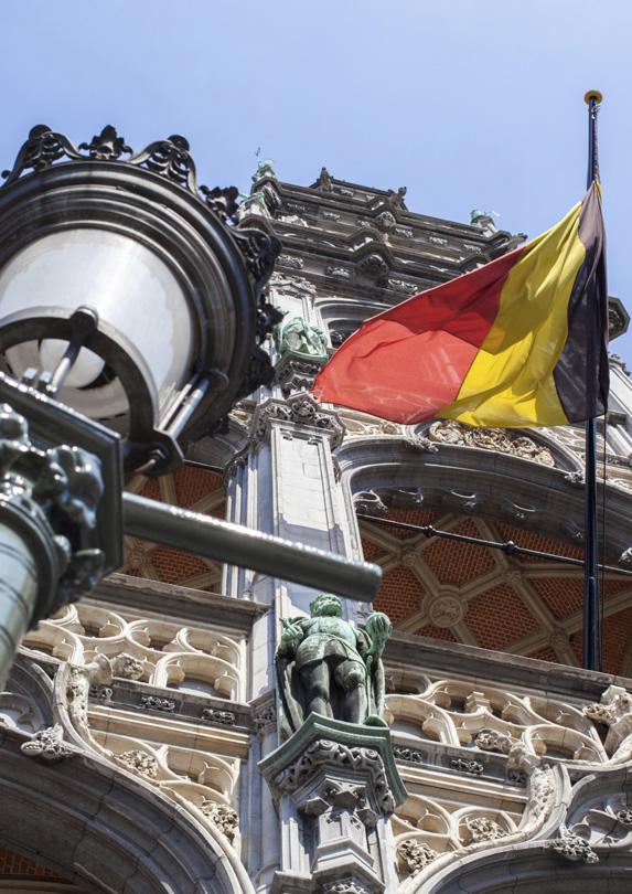 wages in Belgium