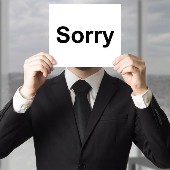 8. Professional Apologizer