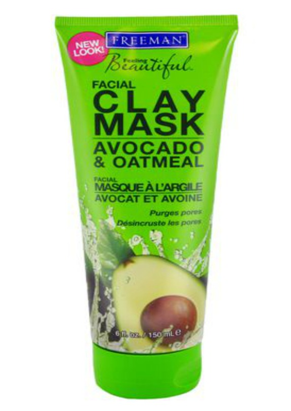 Freeman Avocado and Oatmeal Clay Mask