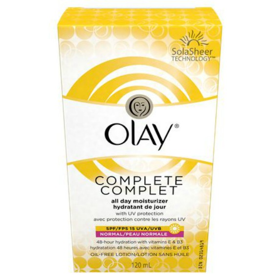 Olay Complete All Day SPF-15 Moisturizer