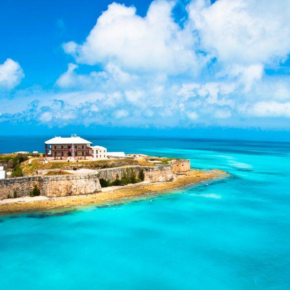 Beautiful water in Bermuda