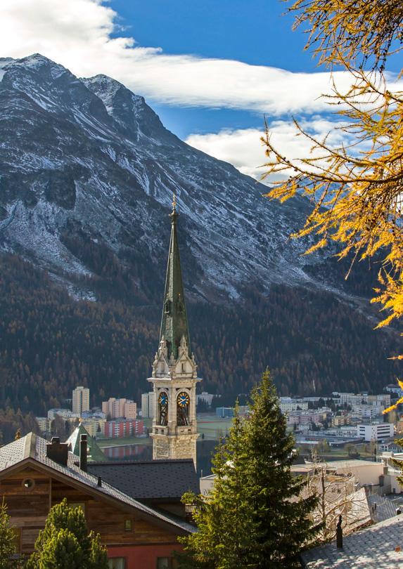 15. St. Moritz, Switzerland