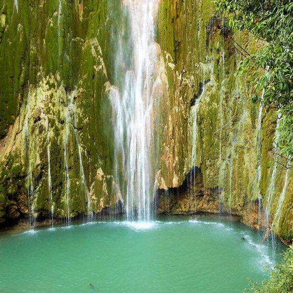 Waterfall in Dominican Republic