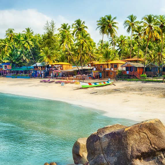 A beach in Goa, India