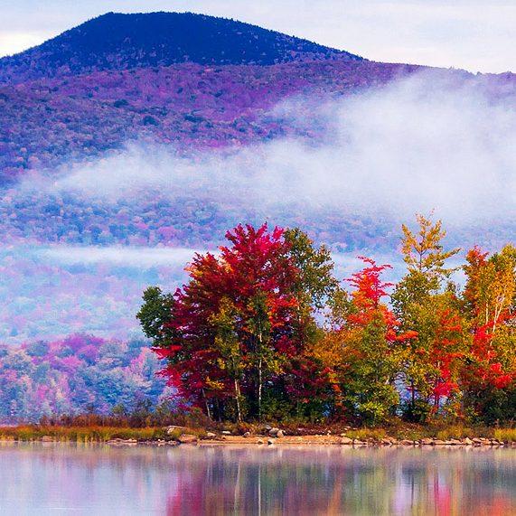 Fall scene in Vermont