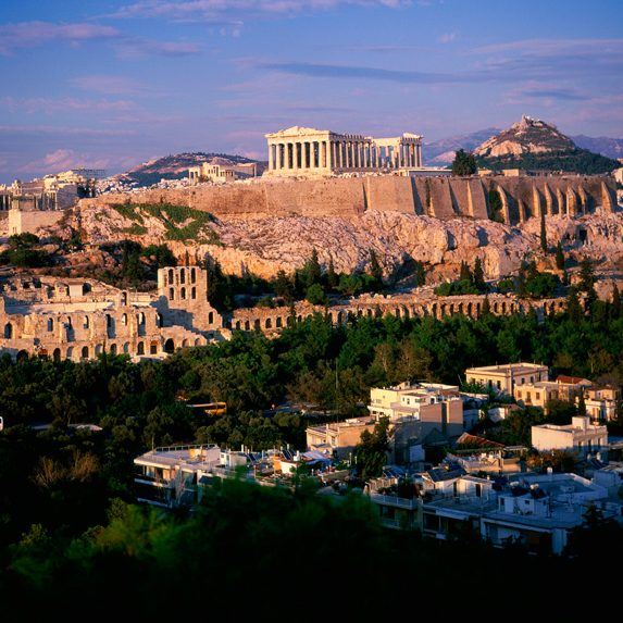 Athens, Greece in November