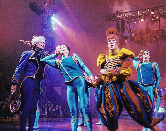 8. Entertainment:  Cirque du Soleil