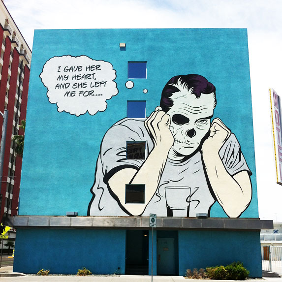 8. Tour the 'Life is Beautiful' Murals