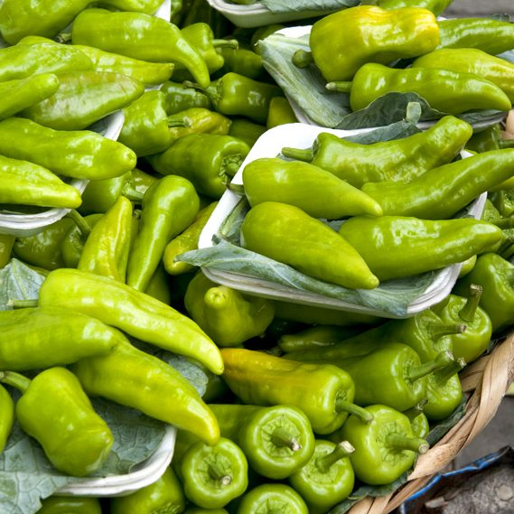 Peppers in Mexico in November