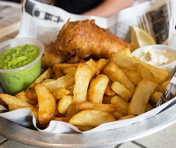 4. Lunch: Brit'n Chips