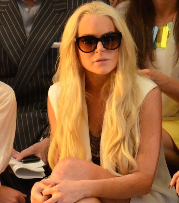 13. Lindsay Lohan