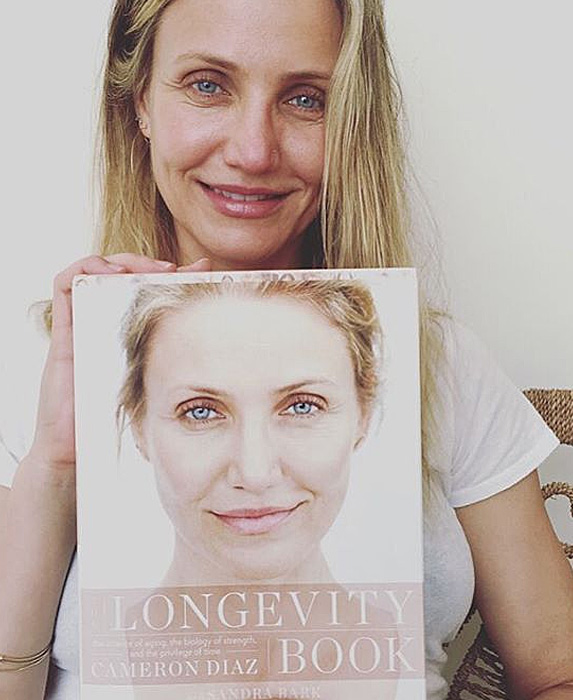Cameron Diaz without makeup on