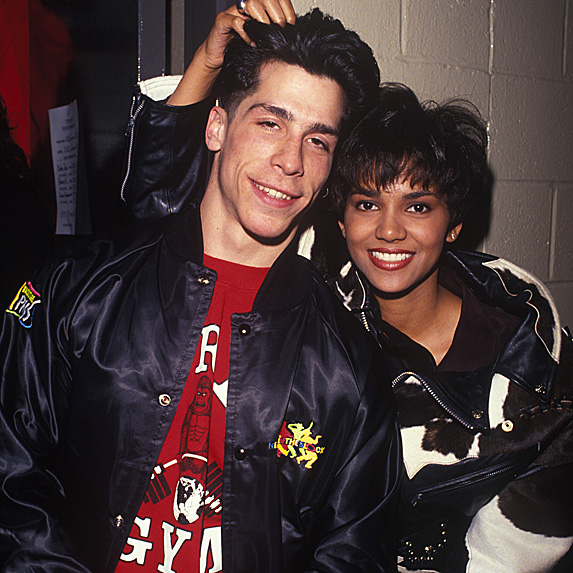 Danny Wood and Halle Berry