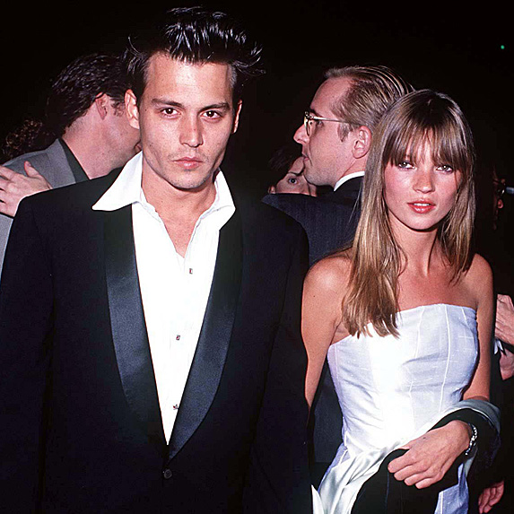 Johnny Depp and Kate Moss dated