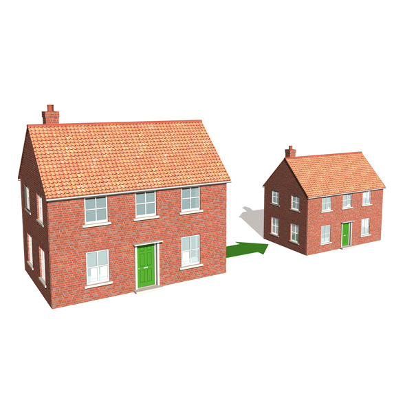 2. Downsize Your Home
