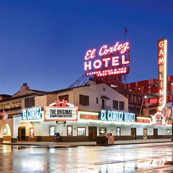 7. Stay the Night at El Cortez Hotel & Casino