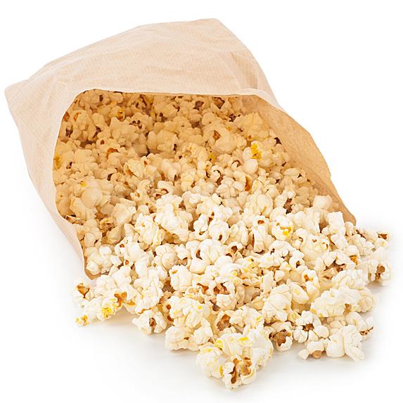 popcorn spilling
