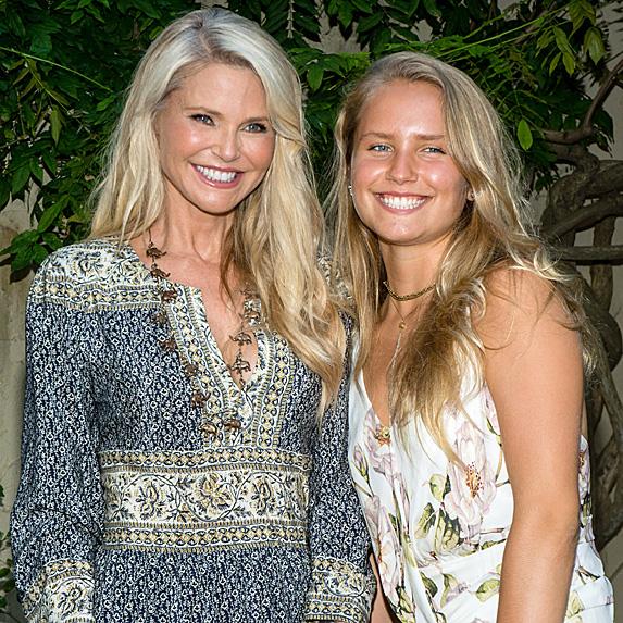 Christie Brinkley and Sailor Brinkley Cook