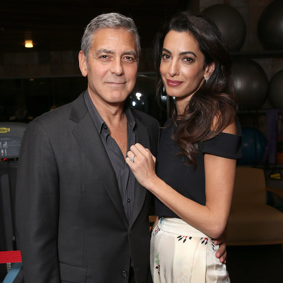George and Amal Clooney age difference