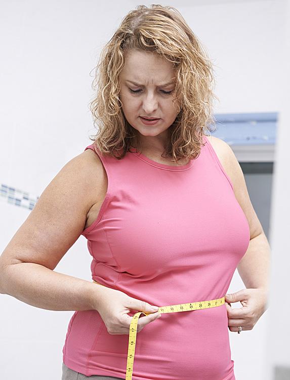 You're gaining weight