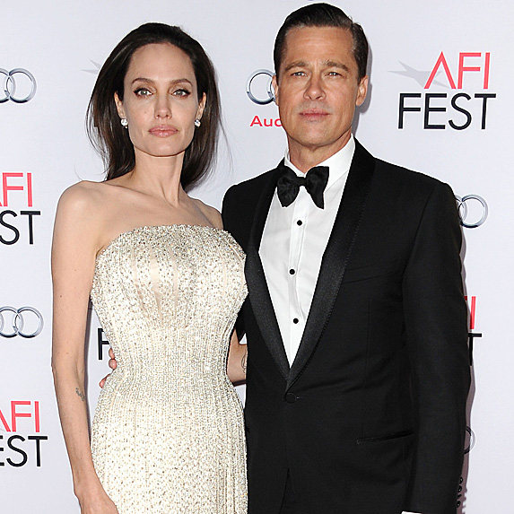Angelina Jolie and Brad Pitt look like twins