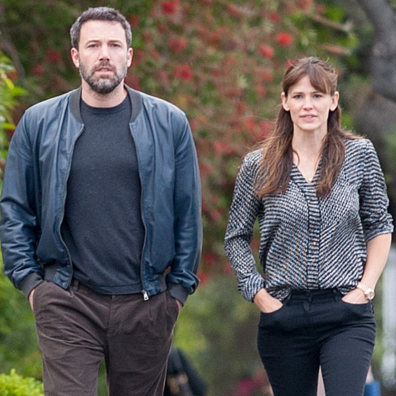 Ben Affleck and Jennifer Garner look like twins