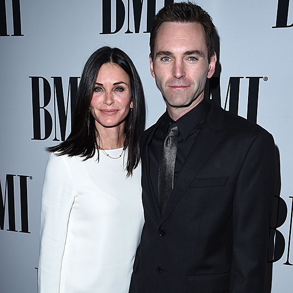 Courteney Cox and Johnny McDaid look like twins