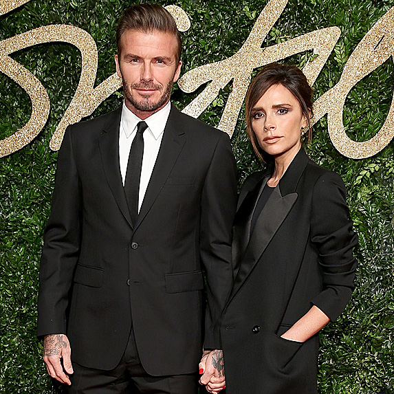 David Beckham and Victoria Beckham look alike