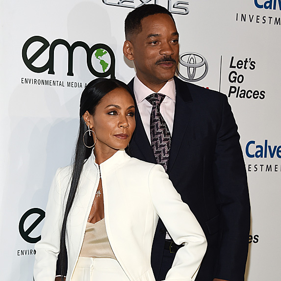 Jada Pinkett Smith and Will Smith look alike