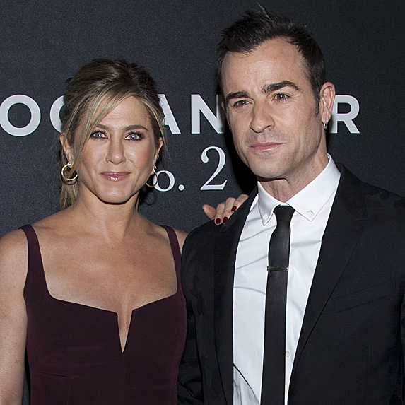 Jennifer Aniston and Justin Theroux look alike