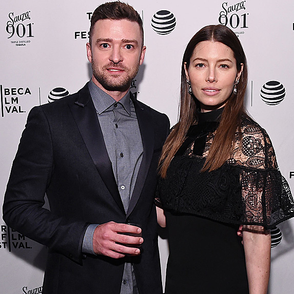Justin Timberlake and Jessica Biel look like twins