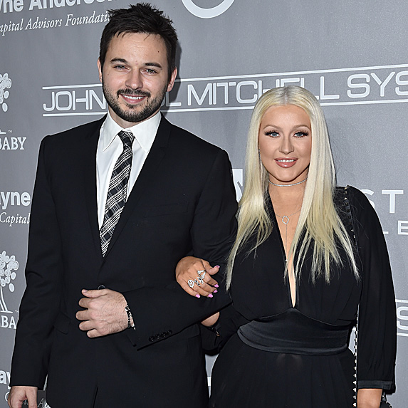 Matt Rutler and Christina Aguilera look alike