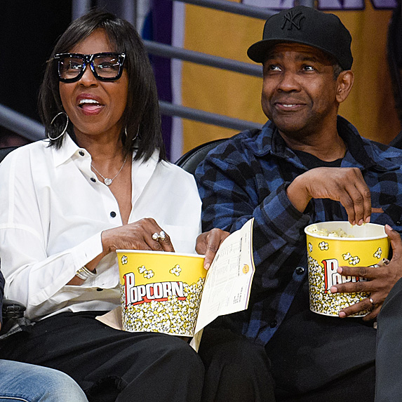 Pauletta Washington and Denzel Washington look like twins