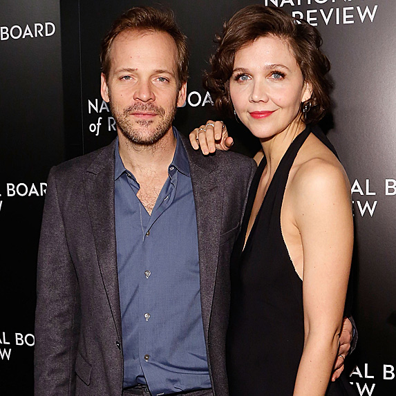 Peter Sarsgaard and Maggie Gyllenhaal look alike