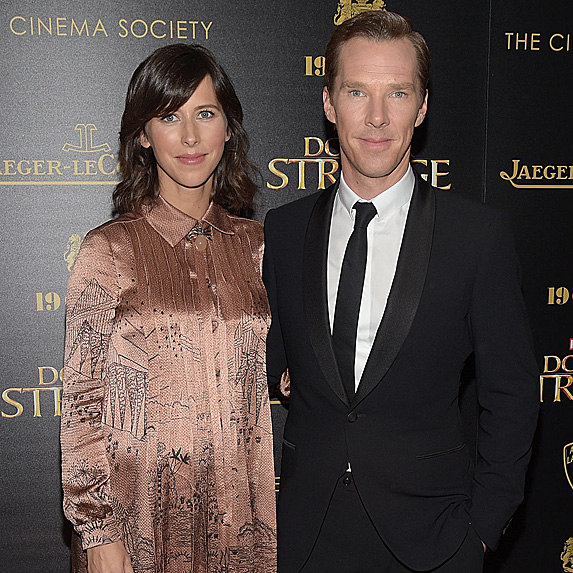 Sophie Hunter and Benedict Cumberbatch look like twins