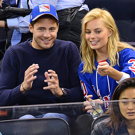 Tom Ackerley and Margot Robbie look alike